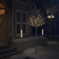 stradeXL Drzewko z lampkami, 600 LED, ciepły biały, kwiat wiśni, 300 cm