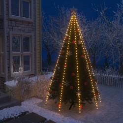 stradeXL Lampki choinkowe w formie siatki, 400 LED, IP44, 400 cm