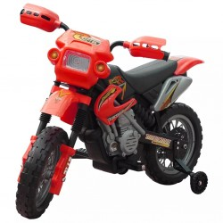 Motorek elektryczny dla dzieci (czerwony)
