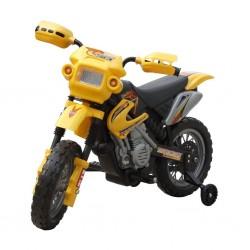 Motorek elektryczny dla dzieci (żółty)