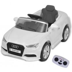 stradeXL Elektryczny samochód dla dzieci z pilotem Audi A3 białe