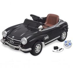 Samochód elektryczny dla dzieci Czarny Mercedes Benz 300SL 6V + pilot