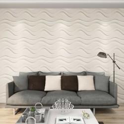 stradeXL 24 pcs Wall Panels 3D 0.5x0.5 m 6 m²