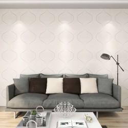 stradeXL Panele ścienne 3D, 12 szt., 0,5x0,5 m, 3 m²