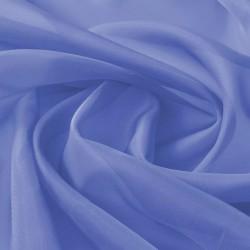 stradeXL Tkanina woal 1,45 x 20 m, niebieska