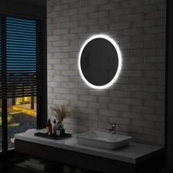 stradeXL Lustro łazienkowe z LED, 60 cm