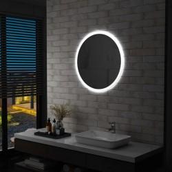 stradeXL Lustro łazienkowe z LED, 70 cm