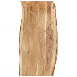 stradeXL Blat, lite drewno akacjowe, 120x(50-60)x2,5 cm