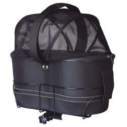 TRIXIE Transporter dla psa na rower, 29x42x48 cm, czarny
