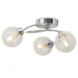 stradeXL Lampa sufitowa na 3 żarówki LED G9, 120 W
