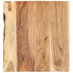 stradeXL Blat łazienkowy, lite drewno akacjowe, 60x55x2,5 cm