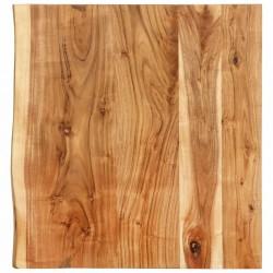 stradeXL Blat łazienkowy, lite drewno akacjowe, 60 x 55 x 3,8 cm