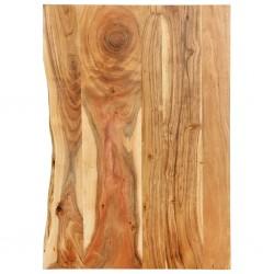 stradeXL Blat łazienkowy, lite drewno akacjowe, 80 x 55 x 2,5 cm
