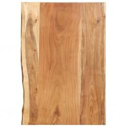 stradeXL Blat łazienkowy, lite drewno akacjowe, 80 x 55 x 3,8 cm