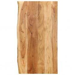 stradeXL Blat łazienkowy, lite drewno akacjowe, 100 x 55 x 2,5 cm