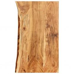 stradeXL Blat łazienkowy, lite drewno akacjowe, 100 x 55 x 3,8 cm