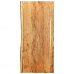 stradeXL Blat łazienkowy, lite drewno akacjowe, 120 x 55 x 2,5 cm