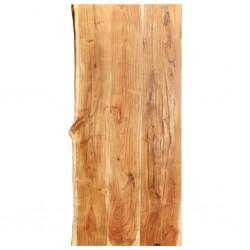 stradeXL Blat łazienkowy, lite drewno akacjowe, 120 x 55 x 3,8 cm