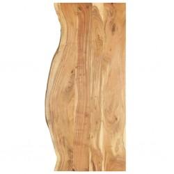stradeXL Blat łazienkowy, lite drewno akacjowe, 140 x 55 x 2,5 cm