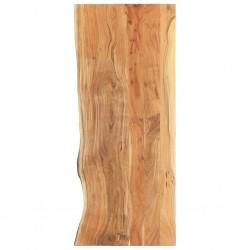 stradeXL Blat łazienkowy, lite drewno akacjowe, 140 x 55 x 3,8 cm