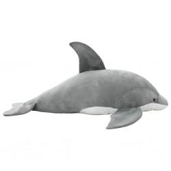 stradeXL Pluszowy delfin przytulanka, szary