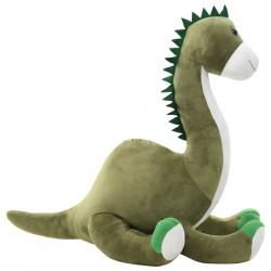 stradeXL Pluszowy brontozaur przytulanka, zielony