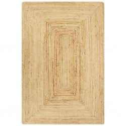 stradeXL Ręcznie wykonany dywan, juta, naturalny, 160x230 cm