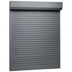 stradeXL Roleta zewnętrzna, aluminiowa, 70 x 100 cm, antracytowa