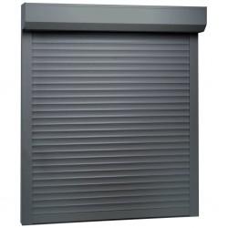 stradeXL Roleta zewnętrzna, aluminiowa, 100 x 120 cm, antracytowa