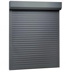 stradeXL Roleta zewnętrzna, aluminiowa, 120 x 150 cm, antracytowa