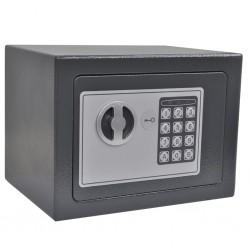 stradeXL Electronic Digital Safe 23x17x17 cm