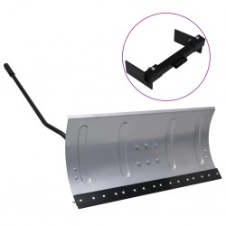 stradeXL Snow Shield for Lawnmower with Adapter 100 cm