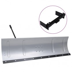 stradeXL Snow Shield for Lawnmower with Adapter 150 cm