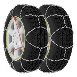 stradeXL Car Tyre Snow Chains 2 pcs 9 mm KN130