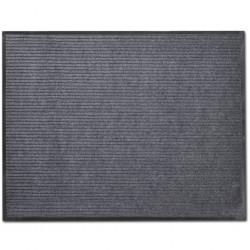 Grey PVC Door Mat 90 x 60 cm