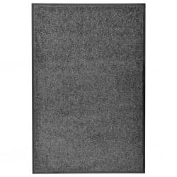 stradeXL Wycieraczka z możliwością prania, antracytowa, 60 x 90 cm