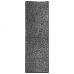 stradeXL Wycieraczka z możliwością prania, antracytowa, 60 x 180 cm