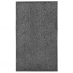 stradeXL Wycieraczka z możliwością prania, antracytowa, 90 x 150 cm