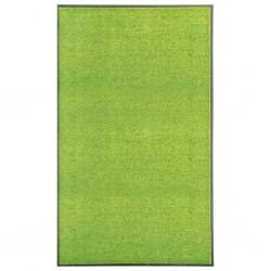 stradeXL Doormat Washable Green 90x150 cm