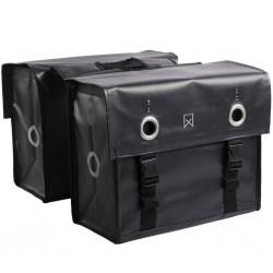 Willex Sakwy rowerowe Tarpaulin, 52 L, matowe czarne