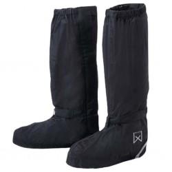 Willex Ochraniacze na buty rowerowe, długie, 44-48, czarne, 29428