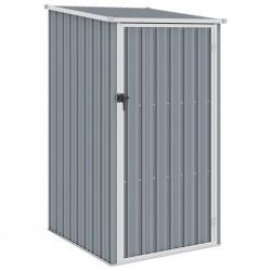 stradeXL Garden Shed Grey 87x98x159 cm Galvanised Steel