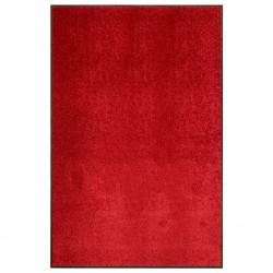 stradeXL Wycieraczka z możliwością prania, czerwona, 120 x 180 cm