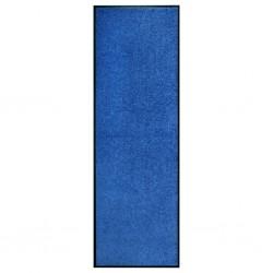 stradeXL Doormat Washable Blue 60x180 cm