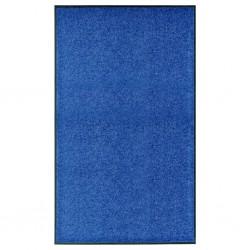 stradeXL Doormat Washable Blue 90x150 cm