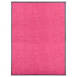stradeXL Doormat Washable Pink 90x120 cm