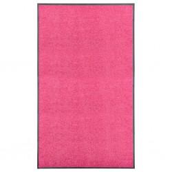 stradeXL Doormat Washable Pink 90x150 cm