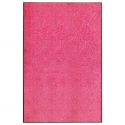stradeXL Doormat Washable Pink 120x180 cm