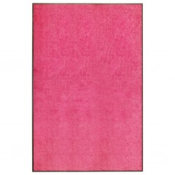 stradeXL Wycieraczka z możliwością prania, różowa, 120 x 180 cm
