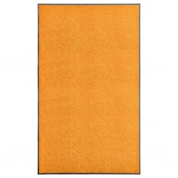 stradeXL Doormat Washable Orange 90x150 cm